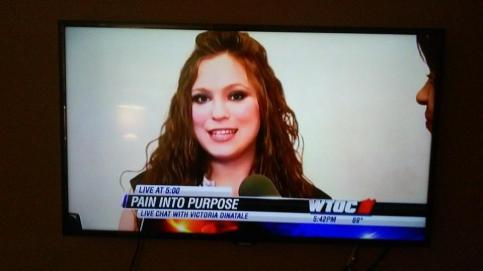 Victoria DiNatale Pain into Purpose WTOC